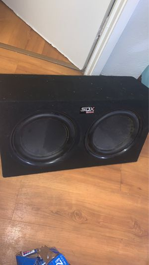 Sdx audio bass system for Sale in West Laurel, MD