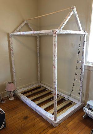 Bed frame for girl. Just the frame for Sale in Richmond, VA