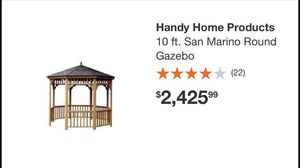 Gazebo and floor kit with all the hardware for Sale in Detroit, MI