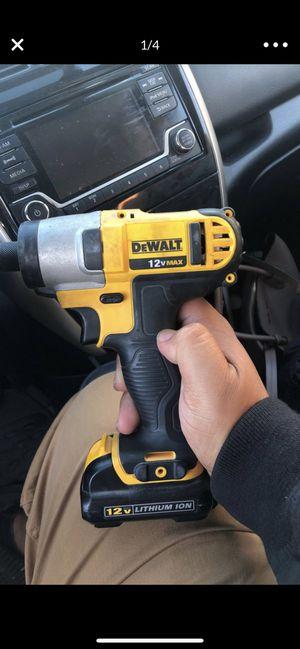 DeWalt 12v impact drill for Sale in San Diego, CA