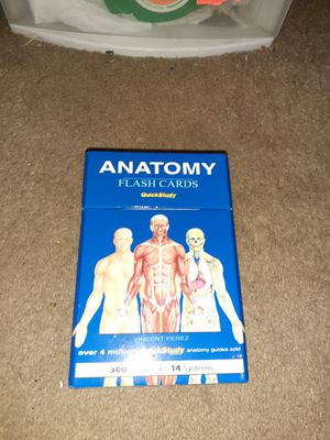 Anatomy flash cards for Sale in Auburn, IN