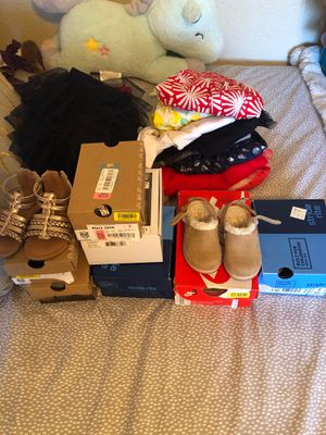 Baby girl clothes, shoes, and accessories for Sale in Stockton, CA