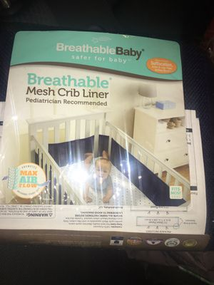 Breathable baby for Sale in San Antonio, TX
