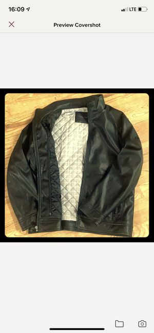 Calvin Klein faux smooth leather jacket for Sale in Louisa, VA