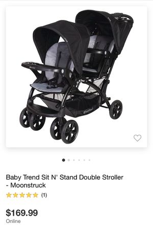Sit N Stand Double Stroller for Sale in Dallas, TX
