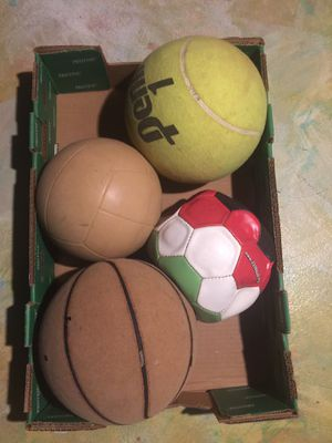 Valley ball, football, basketball for Sale in Haines City, FL