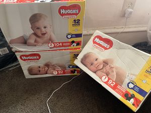 Huggies and Pampers (Diapers) for Sale in UPPR CHICHSTR, PA