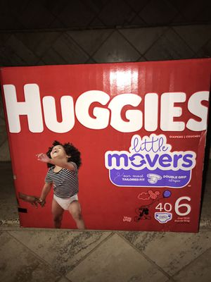 Huggies size 6 $18 firm on price for Sale in Glendale, AZ