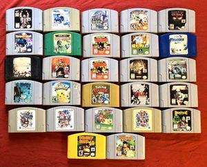 N64 Games for Sale in Bakersfield, CA