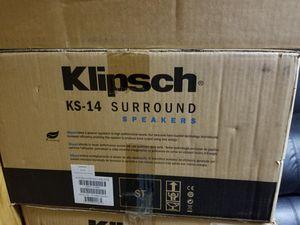 Klipsch KS-14 Speakers for Sale in Shepherdsville, KY