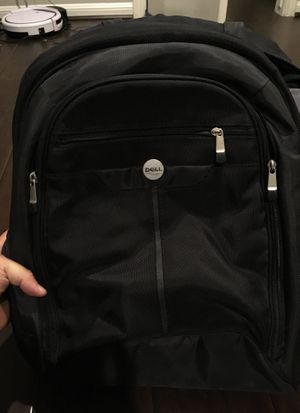 Dell computer laptop bag backpack also fits HP or Apple for Sale in Houston, TX