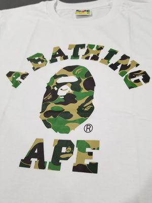 BAPE ABC Camo College tshirt for Sale in Chicago, IL