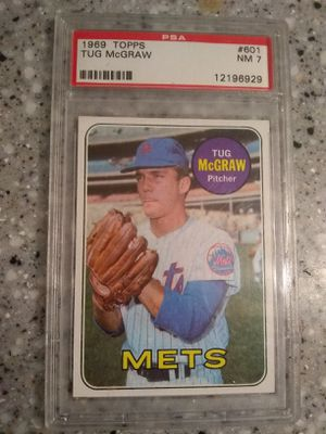 Tug Mcgraw baseball card for Sale in Cincinnati, OH