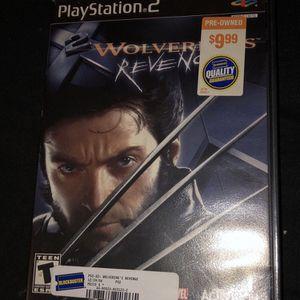 Wolverine's Revenge (PS2) for Sale in Fort Lauderdale, FL