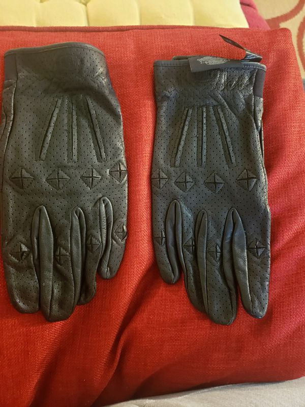 Authentic Harley Davidson Leather Gloves