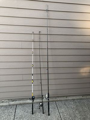 fishing rods for Sale in Lynnwood, WA