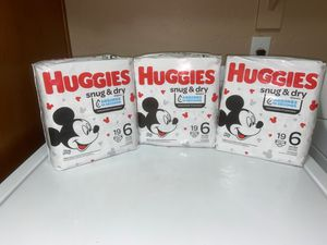 Huggies Size 6 for Sale in Gilbert, AZ
