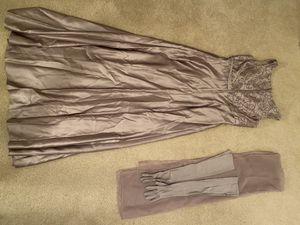 A-Line Dress with Scarf & Gloves for Sale in Neptune City, NJ