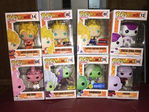 Dragonball z funko pop collection for Sale in Alexandria, VA