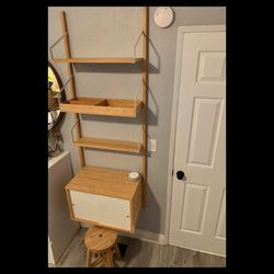 """IKEA """"Svalnas"""" Wall Desk/ Shelving Unit for Sale in Chino Hills,  CA"""