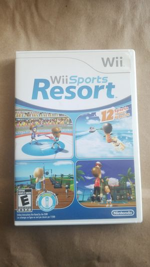 Wii Sports Resort, Wii Game for Sale in El Cajon, CA