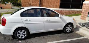 Hyundai Accent 2009 white color mileage 111k for Sale in Baltimore, MD