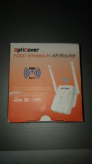 AP/ROUTER N300 WIRELESS-N NEW for Sale in Victorville, CA