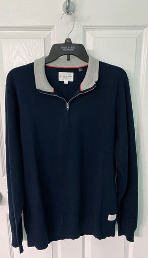 Navy Blue 1/4 Zip Sweater for Sale in Los Angeles, CA