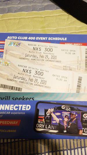 Auto Club 400 NXS 300 Nascar race for Sale in Rialto, CA