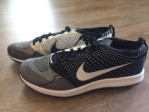 Nike FlyKnit Racer G Men's Golf Shoe NEW! SZ 11, 11.5 Black White Oreo 909756 001 for Sale in Hurst, TX