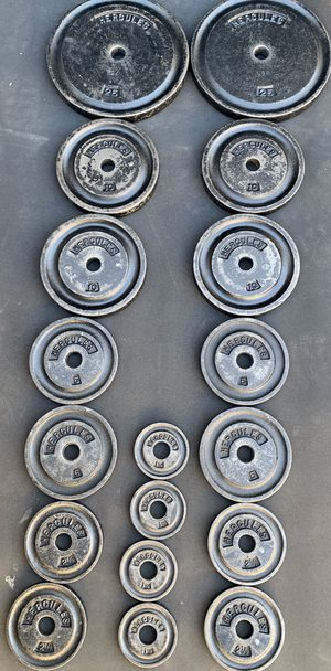 RARE YORK HERCULES weight plates for Sale in Kent, WA