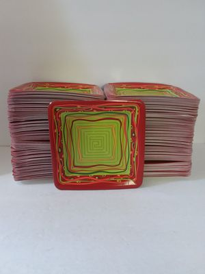 """800 Red & Green 7"""" Christmas Square Paper Plates 4 Parties, Day Cares, Occasions for Sale in Jacksonville, FL"""