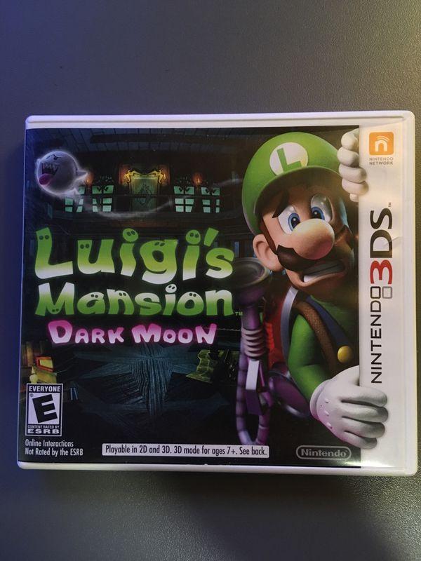 3DS game Luigi's Mansion