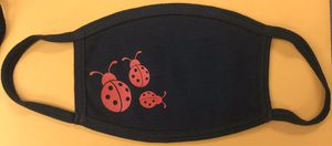 LADY BUG FACE MASK 100% COTTON DOUBLE LAYERED WASHABLE for Sale in Compton, CA