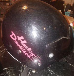Harley-Davidson glitter Diva motorcycle helmet size extra large for Sale in San Antonio, TX