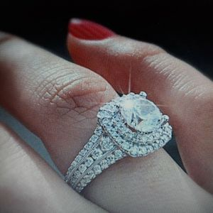 925 Sterling Silver Engagement Ring,Size 6. for Sale in Dallas, TX