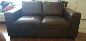 Free leather love seat for Sale in West Covina, CA