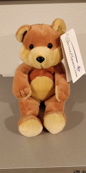 Secret Express Beanie Teddy Bear for Sale in Clermont, FL