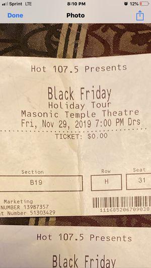 Black Friday Holiday Tour/ Megan Thee Stallion, WSG Polo ,YFN Lucci & Calboy for Sale in Detroit, MI