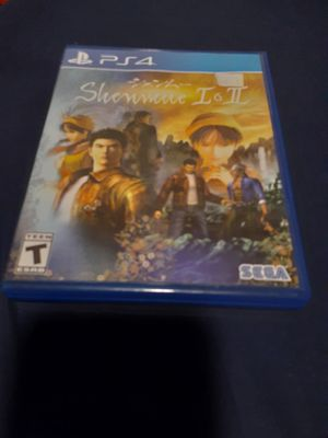 shenmue 1 and 2 for ps4 $20 pick up in Henderson for Sale in Henderson, NV