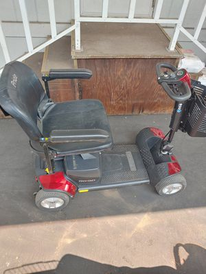 Go go sport mobility scooter with new batteries for Sale in La Verne, CA