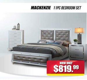 McKenzie 11 PC Bedroom Set for Sale in Hyattsville, MD