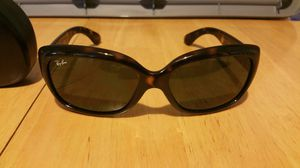 Brand new Ray Ban Jackie Ohh sunglasses with case for Sale in Pittsburgh, PA
