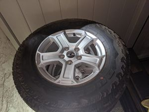 5 brand new 245/75r17 tires and jeep jl wheels for Sale in Montclair, CA