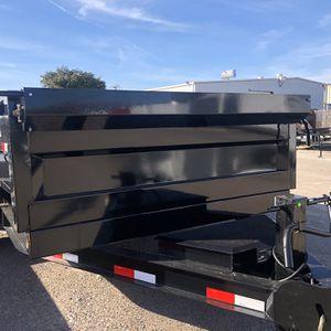 Dump Trailer 7x14 7 K Axles for Sale in Dallas, TX