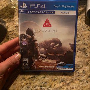 Farpoint PS4 VR Game for Sale in Costa Mesa, CA