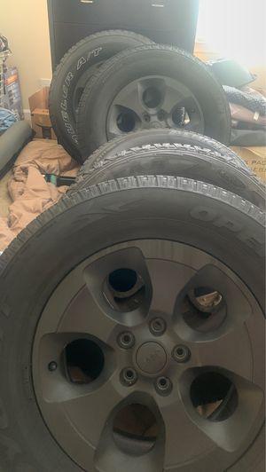Jeep Wrangler Tire/Rim for Sale in Virginia Beach, VA