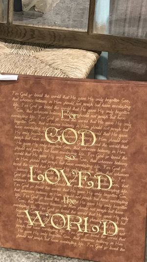 For God so loved the world picture for Sale in Saint Joseph, MO