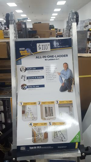 All in one ladder for Sale in Orlando, FL
