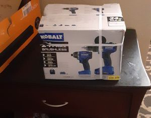 Kolbart 24volt hammer and impact drill combo set for Sale in San Antonio, TX